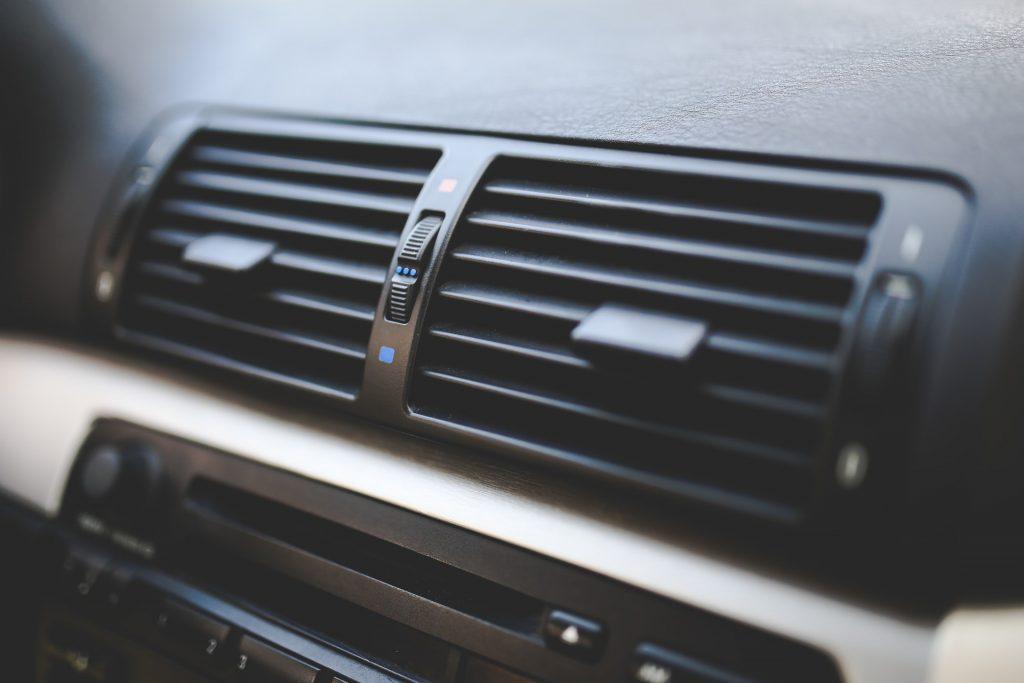 Dash vents in a car. Concord AC repair.