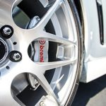 Wheel with Brembo Brake Caliper. Concord brake replacement.