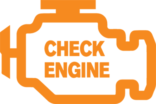 Check Engine Light Symbol. Concord check engine light diganosis.